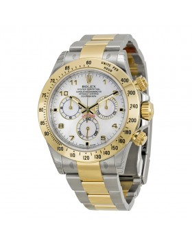 Fake Rolex Daytona Mother of Pearl Arabic Dial Mens Watch 116523MAO