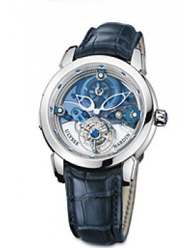 Fake Ulysse Nardin Royal Blue Tourbillon Limited Edition Mens Watch 799-81