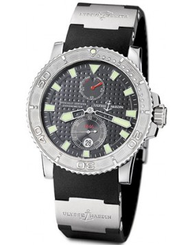 Fake Ulysse Nardin Maxi Marine Chronometer Mens Watch 263-33-3-91