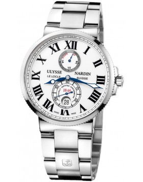 Fake Ulysse Nardin Maxi Marine Chronometer Automatic Mens Watch 263-67-7-40
