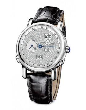 Fake Ulysse Nardin GMT Perpetual Mens Watch 320-82-091