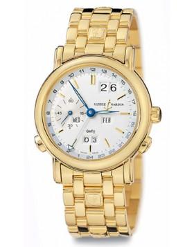 Fake Ulysse Nardin GMT Perpetual Mens Watch 321-22-8