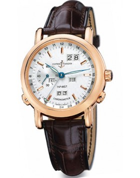 Fake Ulysse Nardin GMT Perpetual Automatic Mens Watch 322-88-91