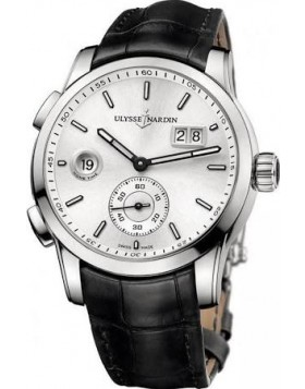 Fake Ulysse Nardin GMT Dual Time Automatic Mens Watch 3343126-91
