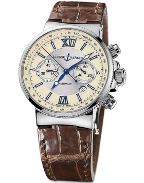 Fake Ulysse Nardin Maxi Marine Chronograph Mens Watch 353-66-314