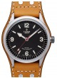 Fake Tudor Heritage Ranger Black Dial Calfskin Strap Mens Watch
